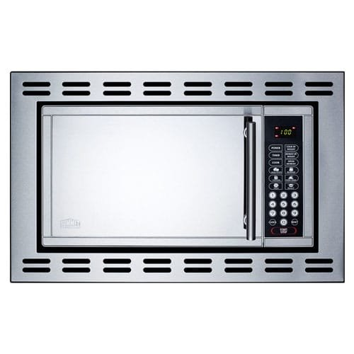 Summit - Microwave Oven - Silver
