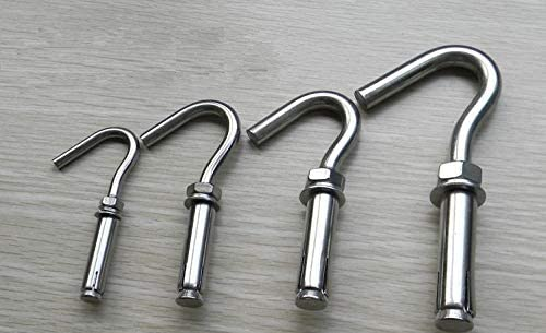 Blue-Ocean-11-20Pcs/Menge M6 304 Stainless Steel Marine Grade Expansion Open Hook Sleeve Anchor Anchors Bolts