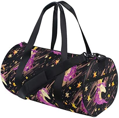 ボストンバッグ 水彩 ユニコーン ジムバッグ ガーメントバッグ メンズ 大容量 防水 バッグ ビジネス コンパクト スーツバッグ ダッフルバッグ 出張 旅行 キャリーオンバッグ 2WAY 男女兼用