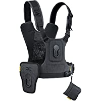Cotton Carrier CCS G3 2 Camera Harness Gray