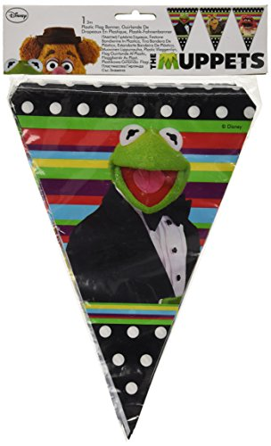 Amscan Banner Pennant Muppets