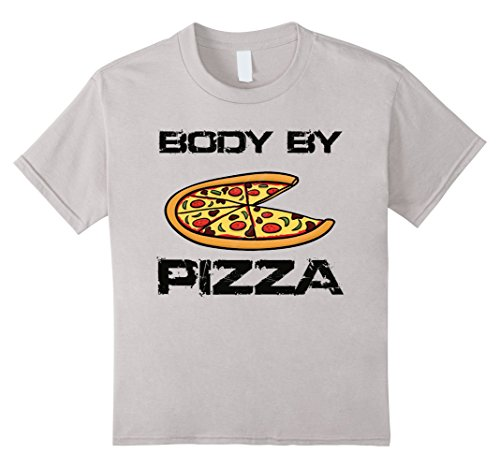 kids-body-by-pizza-funny-t-shirt-fitness-no-anti-diet-fat-weight-4-silver