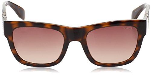 para Sol Gafas Mujer 54 GUESS de Marrón Havana GU7440 52F PgxgnXI