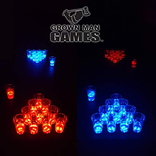 Glowing Cups - Grown Man Games Glow in The