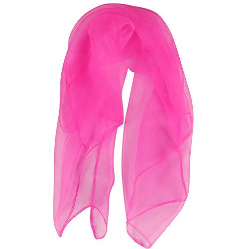 TRIXES 50s Neck Scarf Pink Lady Poodle Tie Day Wear Accessory or Grease Dress Up ()