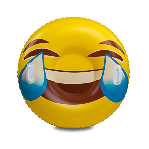BigMouth Inc Tears of Joy Emoji Snow Tube