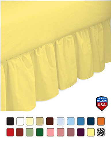 Amazon Com Mayfield 200 Thread Count Cotton Blend Bed Skirt