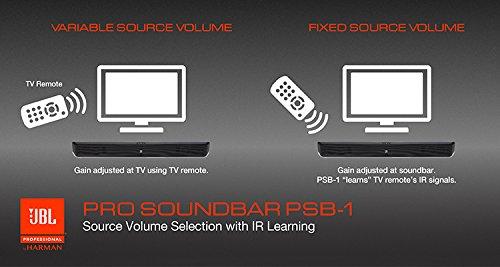 Barra de sonido profesional de 2 canales JBL PSB-1