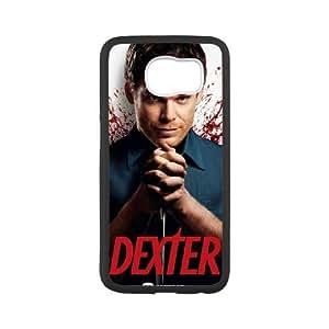 Dexter Blood Samsung Galaxy S6 Cell Phone Case White SP1291926