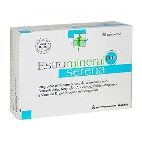MYLAN Estromineral serena plus 30 comprimidos: Amazon.es: Salud y cuidado personal