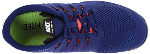 Zapatillas 5 para Nike 0 neonrot mujer Free blau qvZCgCw8x