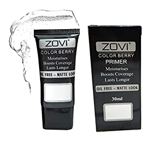AYA Zovi Long Lasting Matte Finish Oil Free Gel Base Primer, Transparent, 30 ml