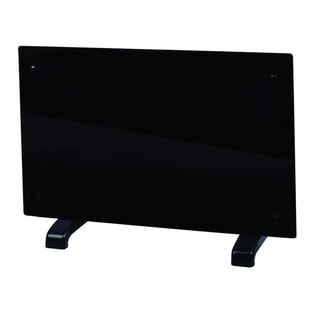 Electric Panel Heater Radiator Glass Black Portable Free Standing Wall Mounted (1500w) Guaranteed4less AGP1515