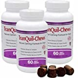 3 PACK TranQuilChews for Dogs (180 Soft Chews) For Sale