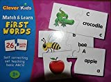 Match & Learn First Words 26 Puzzle pairs
