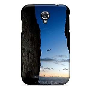 Protective Tpu Case With Fashion Design For Galaxy S4 (escape)