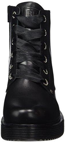 Oxford Para black Negro Cordones Zapatos 958502e6l De Mujer Blck Bullboxer vCq4wgBT