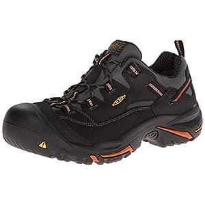 KEEN Utility – Men's Braddock Low (Steel Toe) Work Shoes