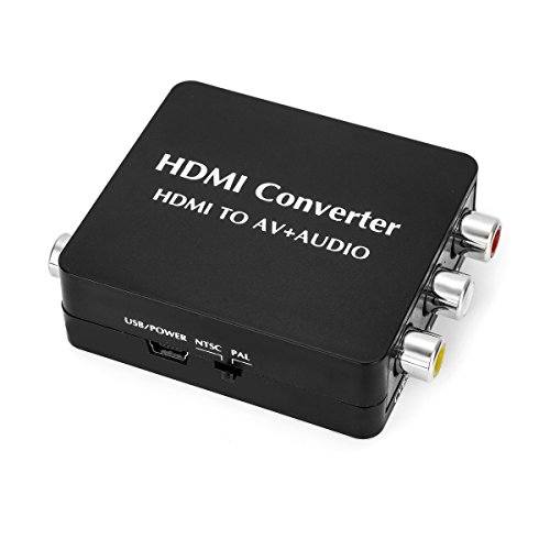 OLSUS HDMI to AV + Audio Converter by OLSUS