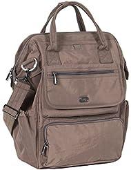 Lug Womens via Tote Backpack, Walnut Brown, One Size
