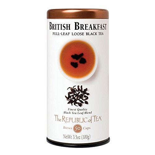 The Republic Of Tea British Breakfast Black Full Leaf Tea, 3.5 Oz / 50 - 60 Cups (Republic Of Tea British compare prices)