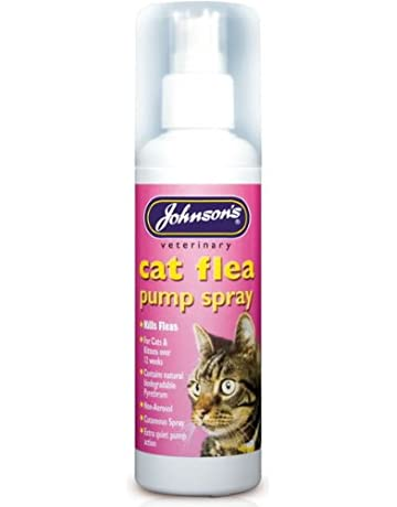 Gato pulgas Bomba Spray – Johnsons 100 ml (TP) (jcfsp)