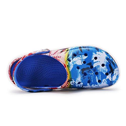 Wangcui Zapatos Transpirables Sandalias Azul Unisex Senderismo Azul Adultos De De EU Verano Zapatos para 1 Color 3 39 tamaño IwRqIvr