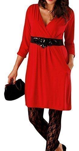 Holidaysuitcase damen Damen sexy weihnachten party abend rot mini ...