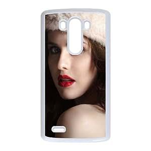 LG G3 Cell Phone Case White Cute Alexandra Daddario Y7Q7AR