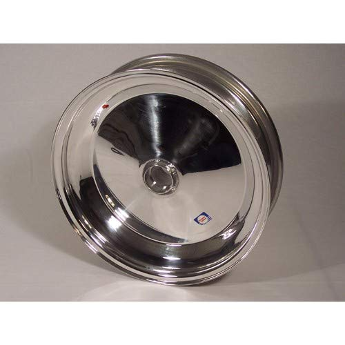 Douglas Aluminum 4 Inch Wide Solid Spindle Mount Sand Wheel For King Pin And Link Pin Front Ends