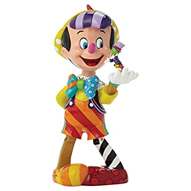 Enesco Disney by Britto Pinocchio 75th Anniversary Figurine, 8