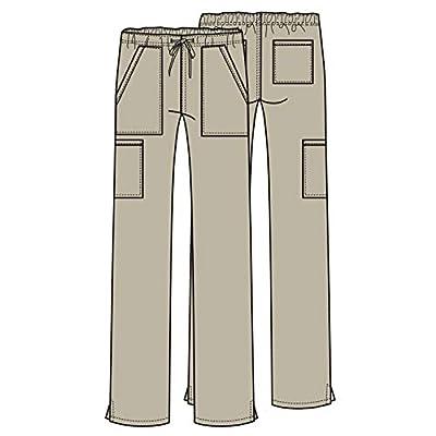 Cherokee Workwear Professionals Women's Mid Rise Straight Leg Drawstring Scrub Pant