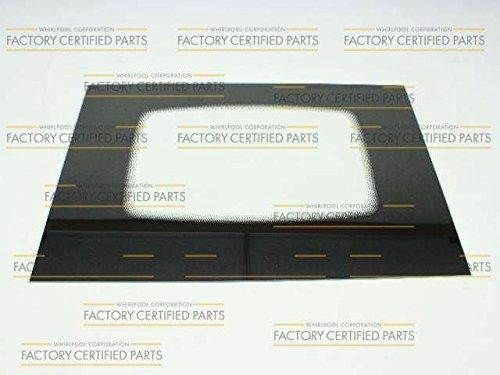 Maytag 12002395 Range Oven Door Outer Panel (Black)