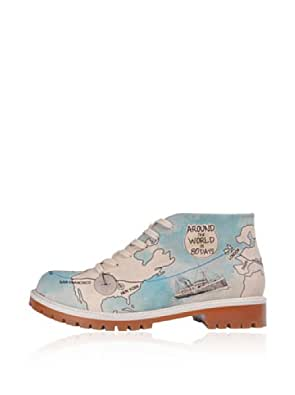 Dogo Shoes Botines All Around The World In 80 Days Turquesa EU 36