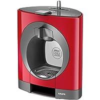 Krups KP1105Oblo Nescafé Dolce Gusto - Máquina de café y otras bebidas en cápsulas, capacidad 0,8 litros, potencia 1500 W, color rojo
