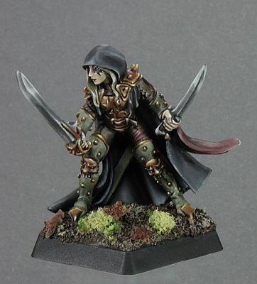 Deladrin, Female Assassin by by Assassin Reaper Miniatures 01d99e