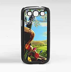 Colorful Whimsical Fairy Tale Fantasy Butterflies and Sunny Skies Hard Snap on Phone Case (Galaxy s3 III)