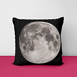41yQp5BKMlL. SS320 Full Moon Square Design Printed Cushion Cover