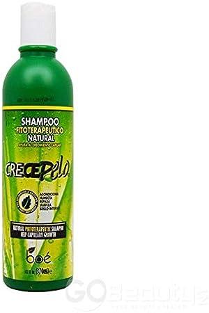 Champú Crece Pelo fitoterapeútico natural, 340 g: Amazon.es: Belleza
