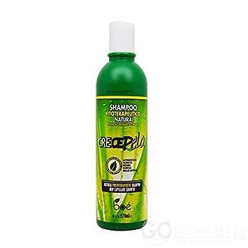 Crece Pelo Champú Crecimiento Natural del Cabello Shampoo 370ML
