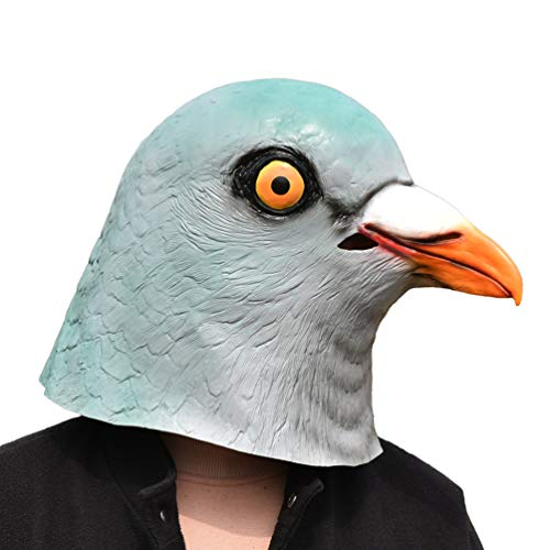 Party Animals Halloween Costumes - PARTY STORY Dove Mask Pigeon Latex