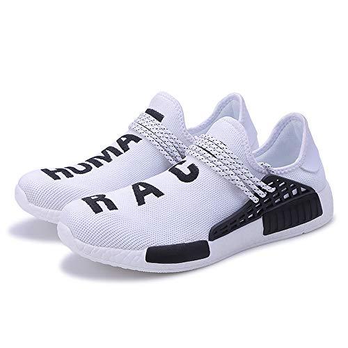 Zapatos De Blanco Transformar De Los Zapatillas Derrape Anti Ventilación Corrientes De Moda Zapatos De ALIKEEY Hombres Gimnasi qx61Oaw