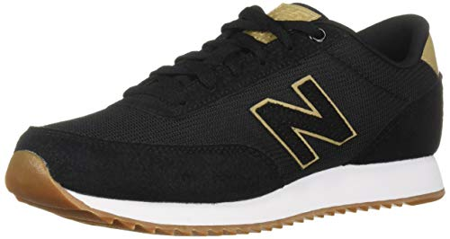 New Balance Women's 501v1 Sneaker Black/Hemp 9 B US