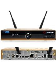 OCTAGON SF8008 Limited Gold Edition – 4K UHD E2 DVB-S2X & DVB-C/T2 (DUAL OS) Combo