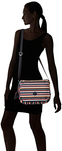 Earthbeat A 5 Kipling Striped Donna Tracolla 5x10 M multi Borsa 30x22 Multicolore Cm wR4qdWp4g