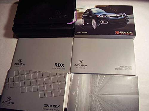 2010 Acura RDX with Nav Manual Owners Manual
