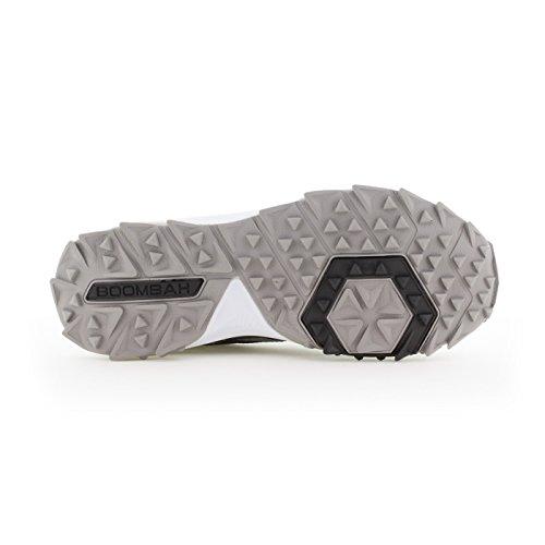 Scarpe Turf Da Uomo Turbo Boombah - 20 Opzioni Di Colore - Più Dimensioni Nero / Grigio