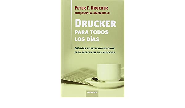 Drucker para todos los dias (Management): Amazon.es: Drucker ...