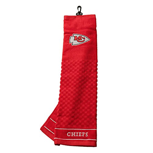 Team Golf NFL Kansas City Chiefs Embroidered Golf Towel, Che