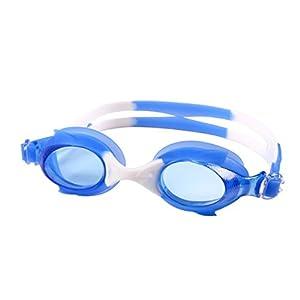 Kids Swimming Goggles Masks Childrens Kids Swim Goggle Adjustable Swim Glasses (C)